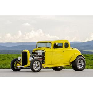 フリー写真, 乗り物, 自動車, クラシックカー, フォード, フォード・モデルB, クーペ, 映画