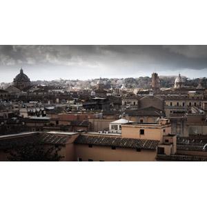 フリー写真, 風景, 建造物, 建築物, 都市, 街並み(町並み), イタリアの風景, ローマ