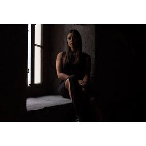 フリー写真, 人物, 女性, 外国人女性, Sheila(00142), 窓辺