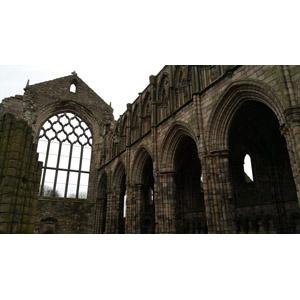 フリー写真, 風景, 建造物, 建築物, 修道院, ホリールード寺院, 廃墟, スコットランドの風景, エディンバラ
