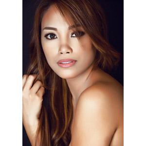 フリー写真, 人物, 女性, アジア人女性, フィリピン人, 美容, 髪の毛を触る
