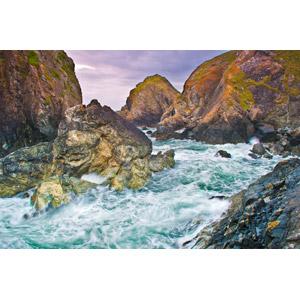 フリー写真, 風景, 自然, 岩, 海, 海岸, イギリスの風景, イングランド