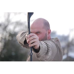 フリー写真, 人物, 男性, 外国人男性, ルーマニア人, 武器, 弓矢