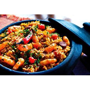 フリー写真, 食べ物(食料), 料理, 米料理, パエリア, スペイン料理