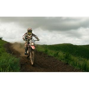 フリー写真, 人と乗り物, 乗り物, バイク(オートバイ), モトクロス, モータースポーツ