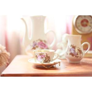 フリー写真, 食器, ティーカップ, ソーサー
