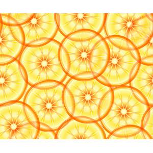 フリーイラスト, ベクター画像, AI, 背景, 食べ物(食料), 果物(フルーツ), オレンジ