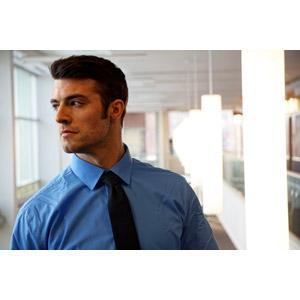 フリー写真, 人物, 男性, 外国人男性, 男性(00157), アメリカ人, ビジネス, 仕事, 職業, ビジネスマン, ワイシャツ