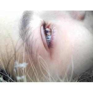 フリー写真, 人物, 女性, 人体, 目(眼)