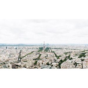 フリー写真, 風景, 建造物, 建築物, エッフェル塔, 都市, 街並み(町並み), フランスの風景, パリ
