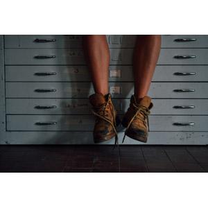 フリー写真, 人体, 足, 脚, 靴(シューズ), トレッキングシューズ