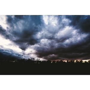 フリー写真, 風景, 自然, 空, 雲, 暗雲, 嵐, 日暮れ