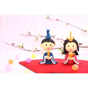 フリー写真, 人形, 年中行事, 雛祭り(ひなまつり), 3月, 上巳(桃の節句), ひな人形, 飴(キャンディ)