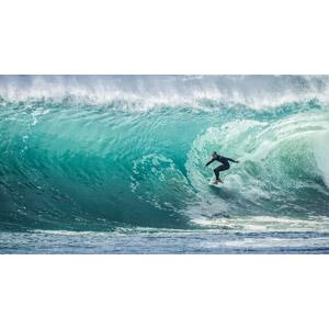フリー写真, 人物, 男性, 外国人男性, スポーツ, ウォータースポーツ, サーフィン, サーファー, 人と風景, 海, 波