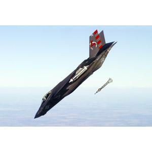 フリー写真, 乗り物, 航空機, 飛行機, 兵器, 戦闘機, F-35 ライトニング II, アメリカ軍, 爆弾