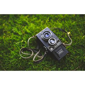 フリー写真, カメラ, 二眼レフカメラ, ロモ(LOMO), 芝生