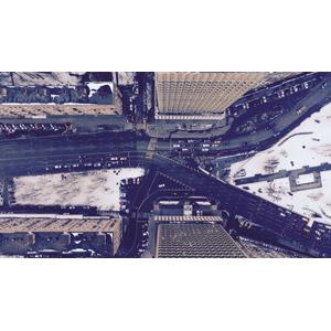 フリー写真, 風景, 建造物, 建築物, 高層ビル, 都市, 街並み(町並み), 道路, ロシアの風景, モスクワ