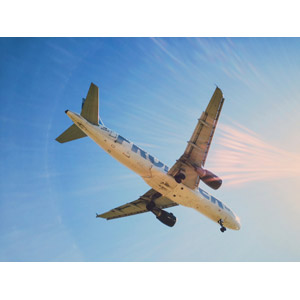 フリー写真, 乗り物, 航空機, 飛行機, 旅客機, 青空, 太陽光(日光)