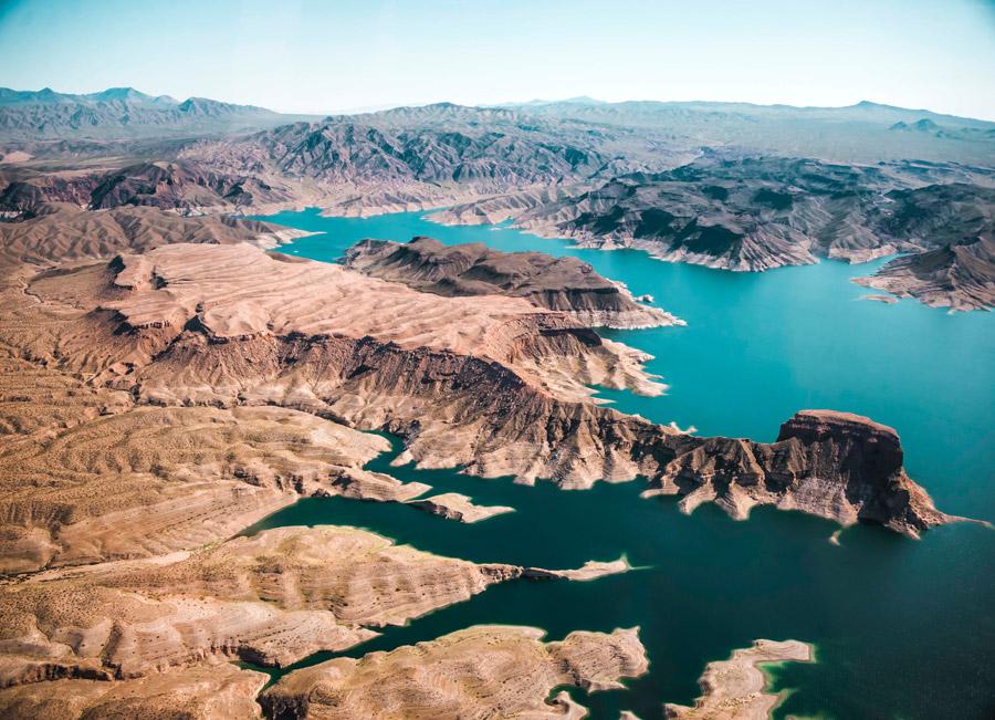 フリー写真 コロラド州の川と渓谷の風景