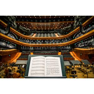 フリー写真, 風景, 建造物, 建築物, コンサートホール, 音楽, 楽譜