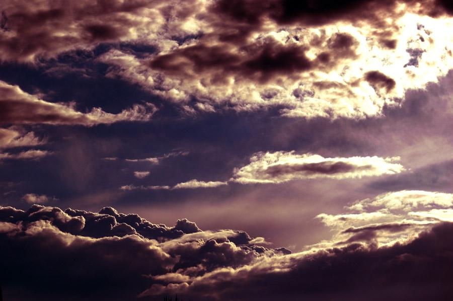 フリー写真 雲の風景