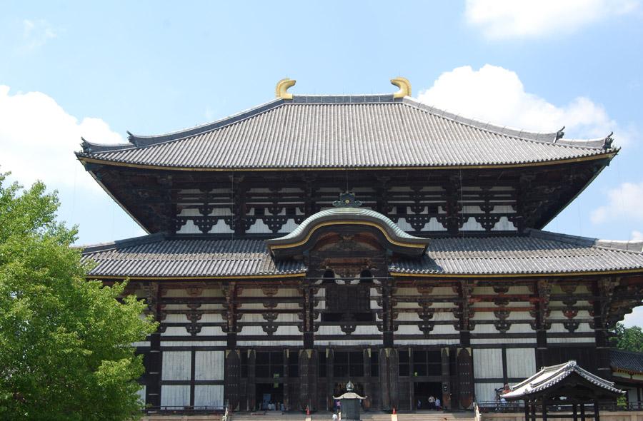 フリー写真 東大寺の大仏殿