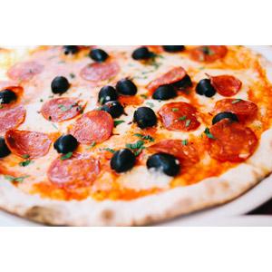 フリー写真, 食べ物(食料), 料理, ピザ, イタリア料理, ファーストフード, パン, チーズ料理