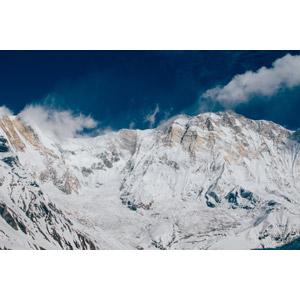 フリー写真, 風景, 自然, 山, ヒマラヤ山脈, ネパールの風景, 雲