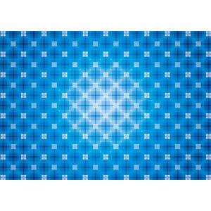 フリーイラスト, ベクター画像, AI, 背景, 抽象イメージ, 幾何学模様, 青色(ブルー)