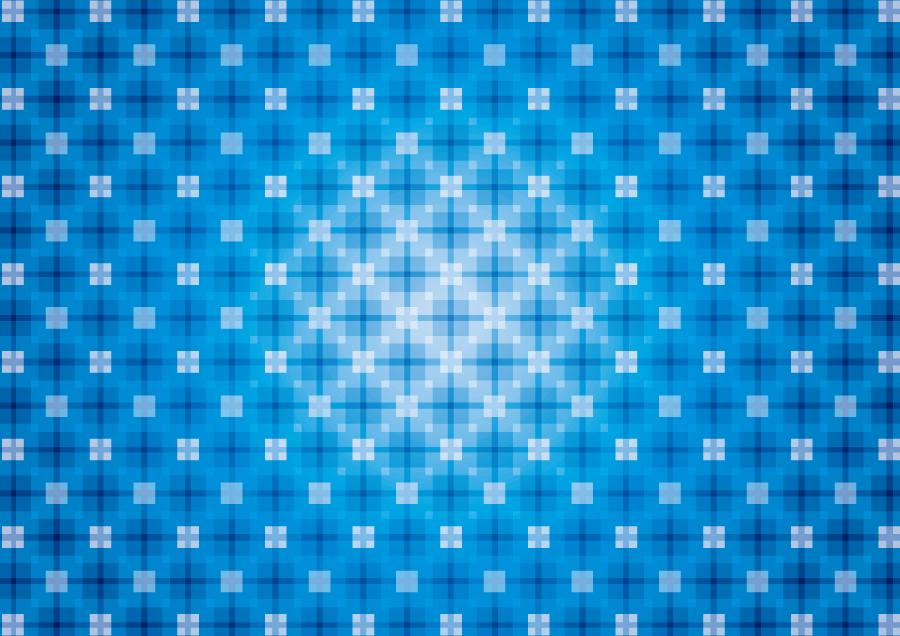 フリーイラスト 青色の格子状の背景
