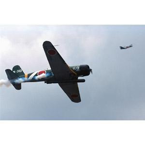 フリー写真, 乗り物, 航空機, 飛行機, レプリカ機, 九七式艦上攻撃機, 大日本帝国軍