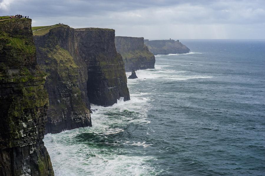 フリー写真 モハーの断崖の風景