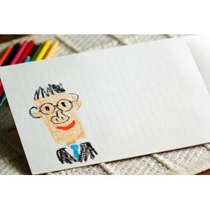 フリー写真, 絵画, 似顔絵, 年中行事, 父の日, 6月, 便箋