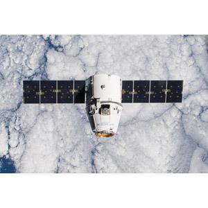 フリー写真, 乗り物, 宇宙船, ドラゴン宇宙船, スペースX CRS-5