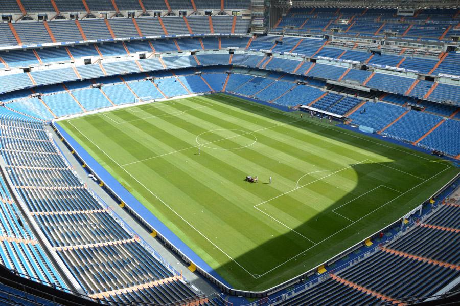 フリー写真 エスタディオ・サンティアゴ・ベルナベウのサッカースタジアム