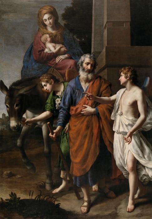 フリー絵画 アレッサンドロ・トゥルキ作「エジプトへの逃避」
