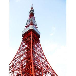 フリー写真, 風景, 建造物, 建築物, 塔(タワー), 東京タワー, 日本の風景, 東京都