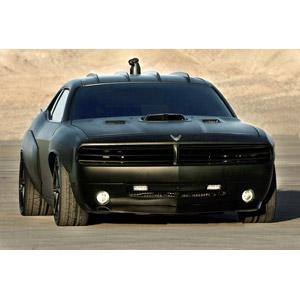 フリー写真, 乗り物, 自動車, スポーツカー, クライスラー, ダッジ, ダッジ・チャレンジャー, アメリカ軍