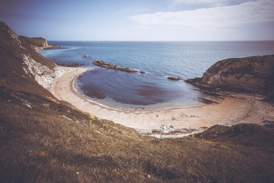 フリー写真 サウサンプトンの浜辺の風景