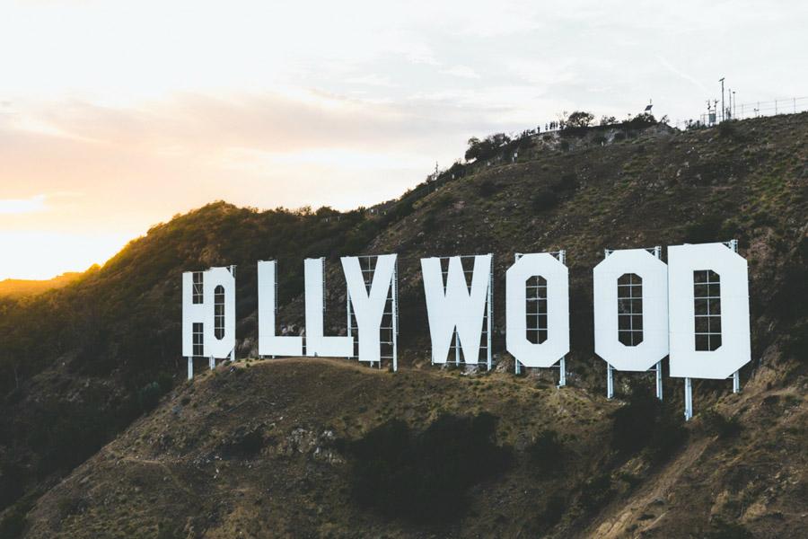 フリー写真 ハリウッドサイン