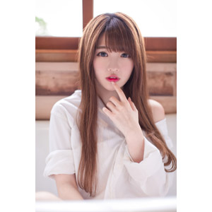フリー写真, 人物, 女性, アジア人女性, 欣欣(00001), 中国人, 唇に指を当てる