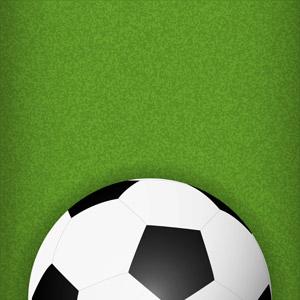 フリーイラスト, ベクター画像, AI, スポーツ, 球技, サッカー, サッカーボール, 芝生