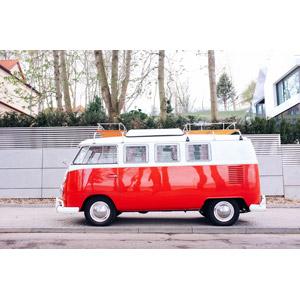 フリー写真, 乗り物, 自動車, フォルクスワーゲン, ワーゲンバス