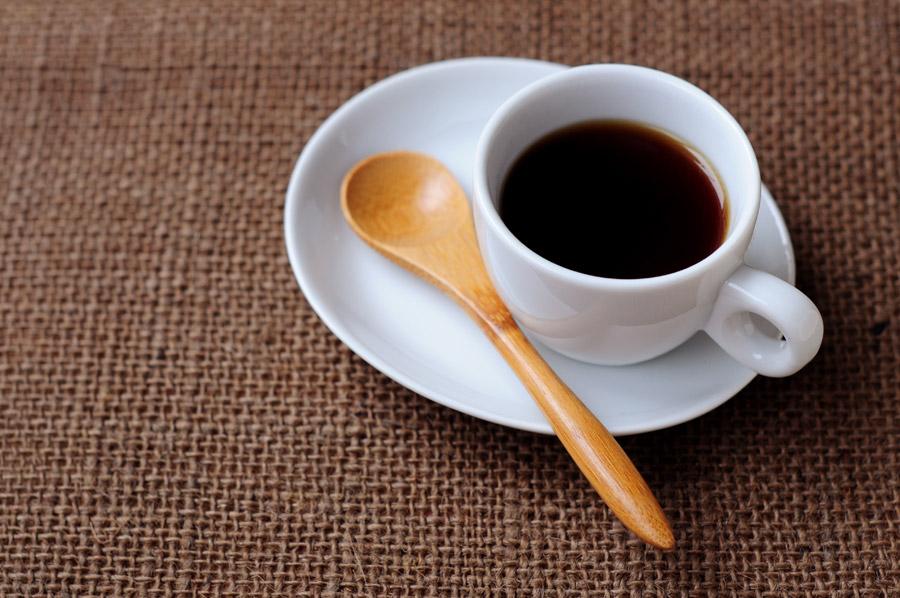 フリー写真 一杯のホットコーヒー