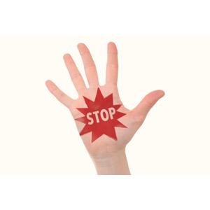 フリー写真, 人体, 手, 禁止(ダメ), 制止, ストップ