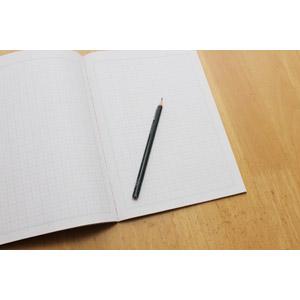 フリー写真, 文房具, 筆記用具, ノート, 鉛筆(えんぴつ), 勉強(学習), 教育