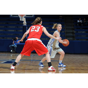 フリー写真, スポーツ, 球技, バスケットボール, 人物, 女性, 外国人女性, 二人