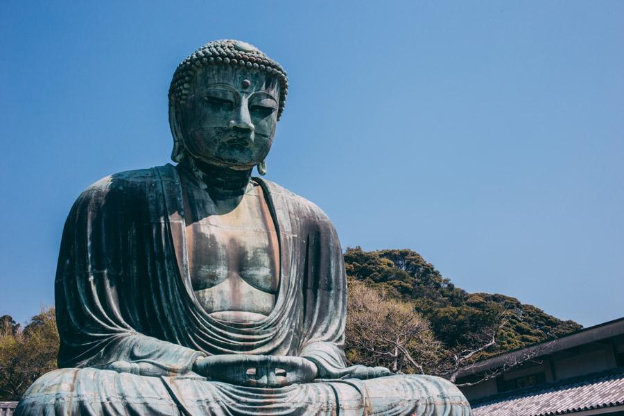 フリー写真 高徳院の鎌倉大仏