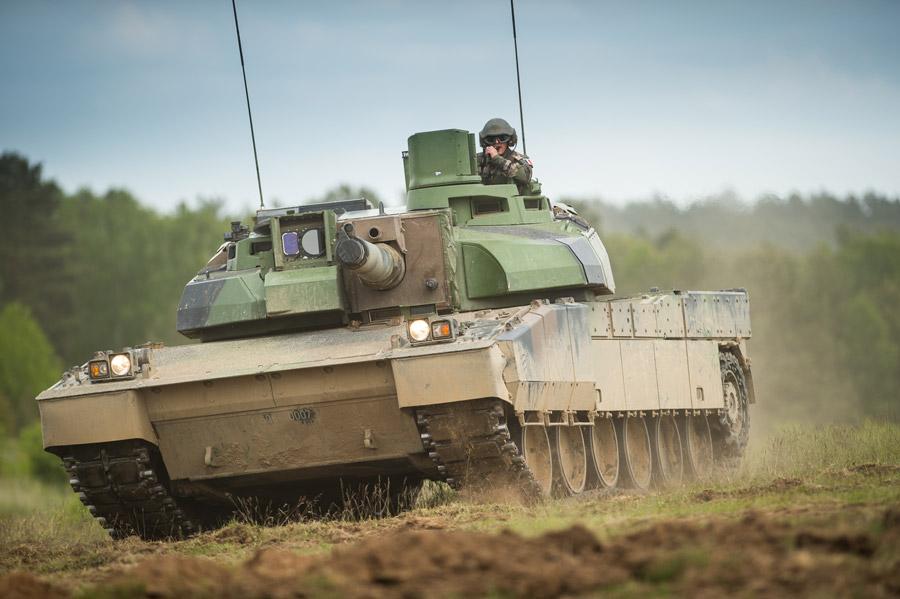 フリー写真 フランスの戦車 「AMX-56 ルクレール」