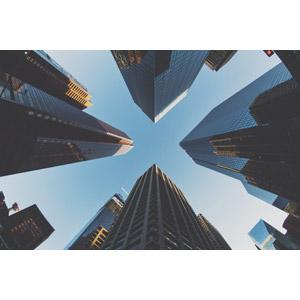 フリー写真, 風景, 建造物, 建築物, 高層ビル, カナダの風景, カルガリー